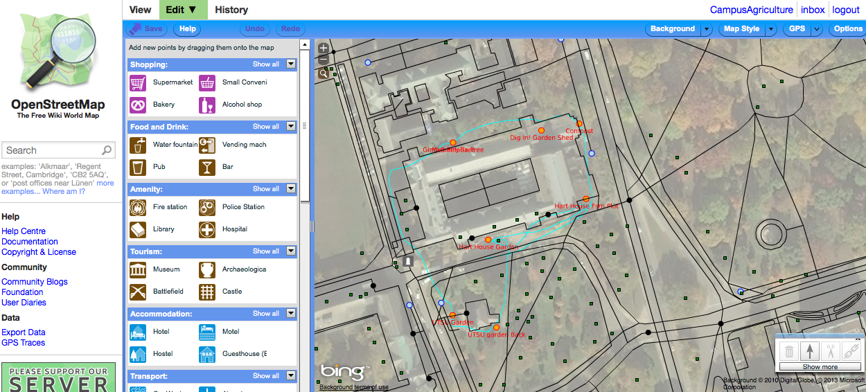 U O F T Campus Map.Openstreetmap Collaborative Mapping With Uoft S Dig In Campus